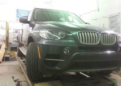 BMW SUV After Bodywork