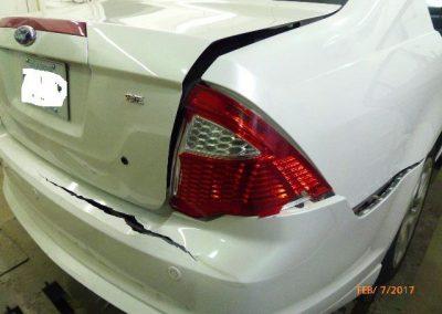 Ford Before Autobody Repairs