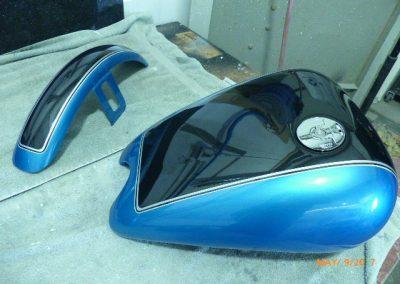 Custom Motorcycle Painting