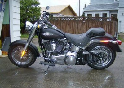 Custom Motorcycle Paintjob