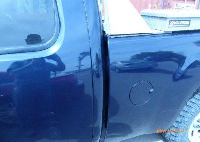 Truck Frame Damage After
