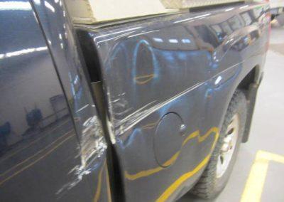 Truck Frame Damage Before